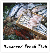 Assorted Fresh Fish